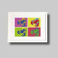Andy Warhol Lobsters