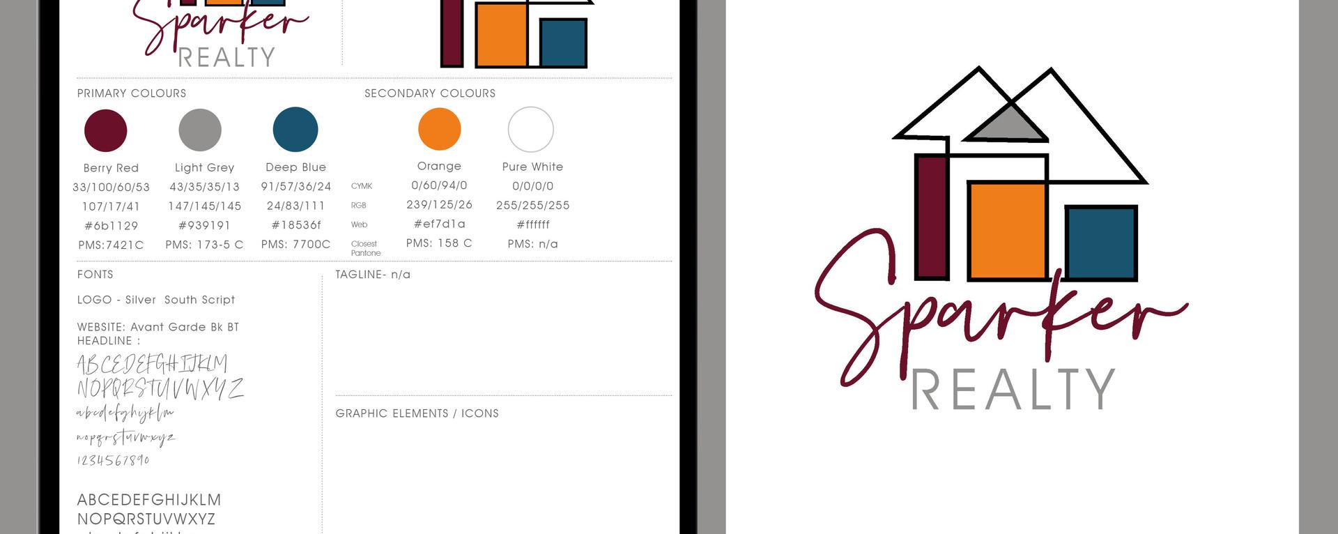 NEW BRAND / LOGO  DESIGN | SPARKER REALTY