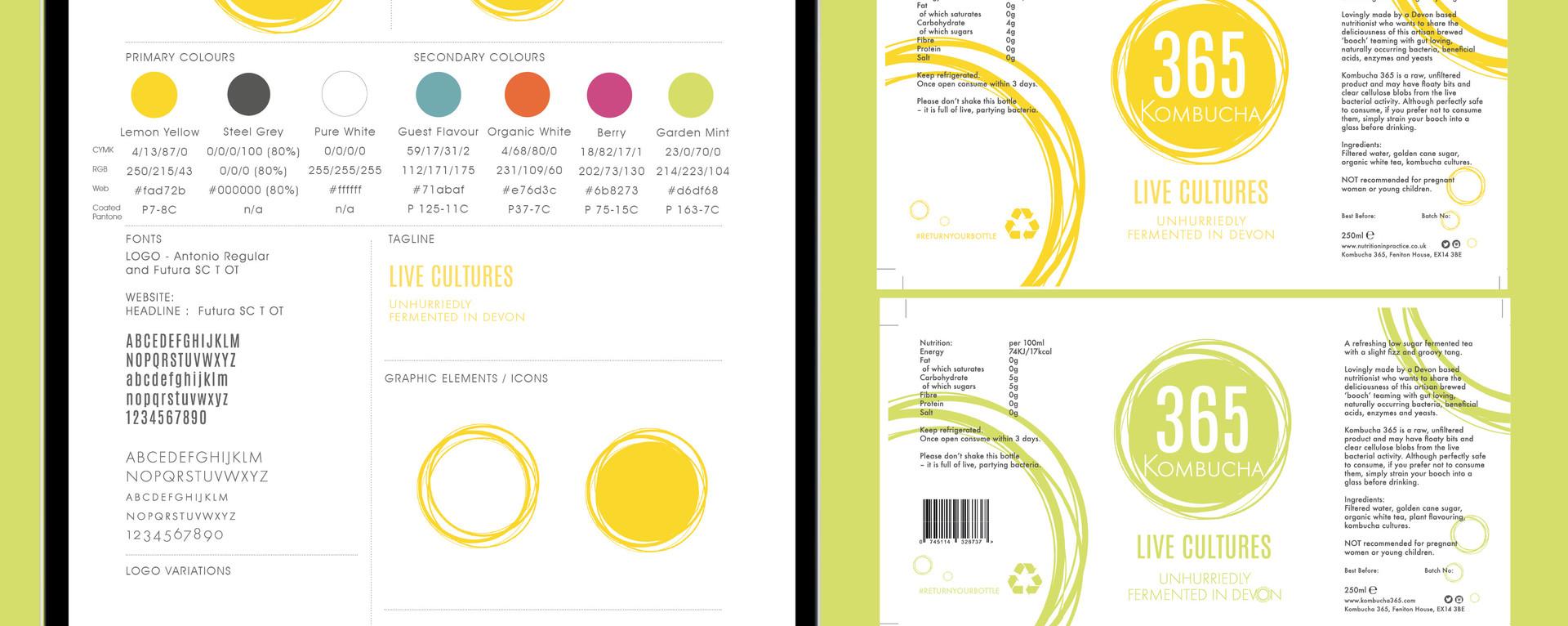 NEW BRAND DESIGN | KOMBUCHA
