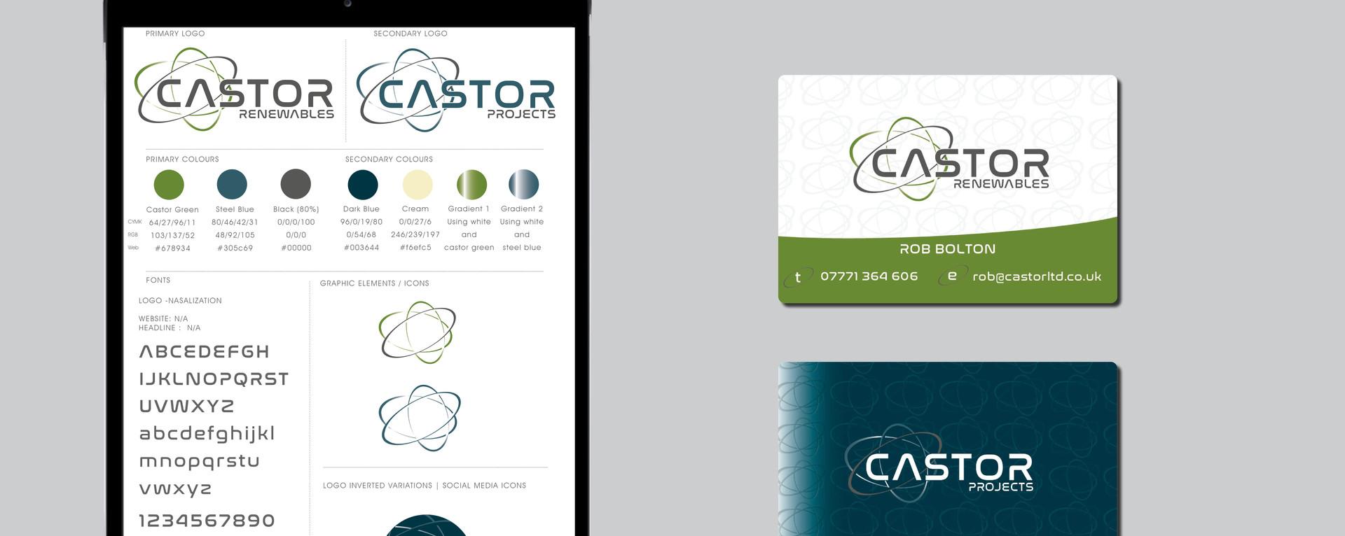 New Brand for CASTOR Ltd
