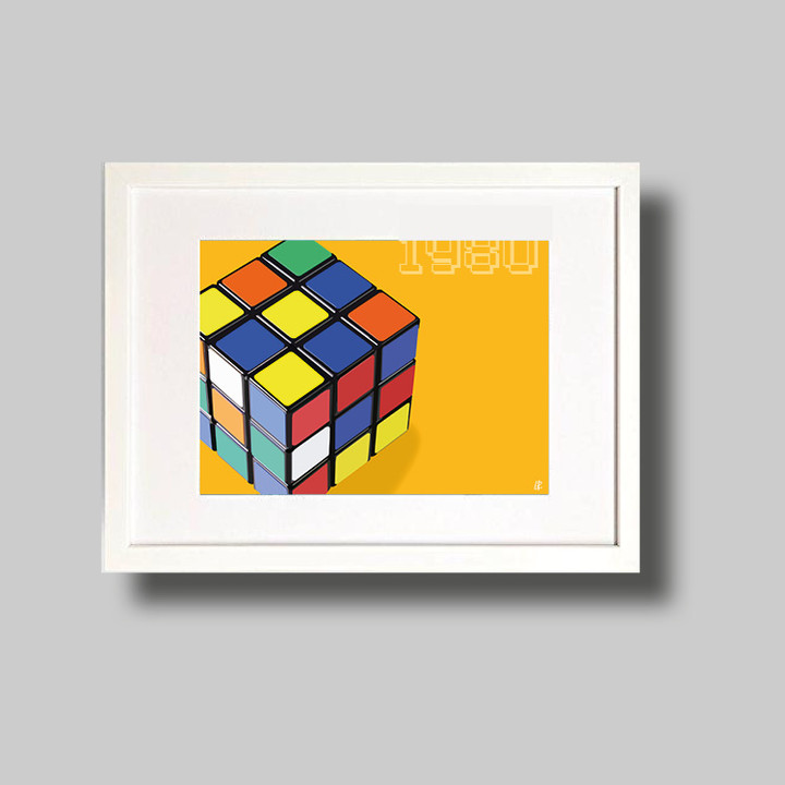 Rubiks Cube 1980