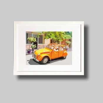 From Paris with love in 2CV
