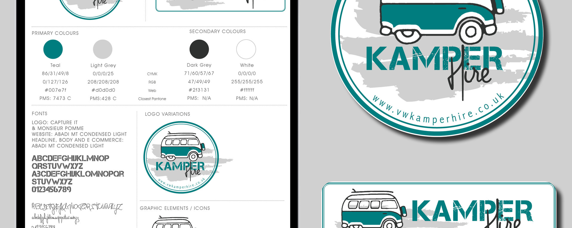 NEW BRAND DESIGN | KAMPER HIRE
