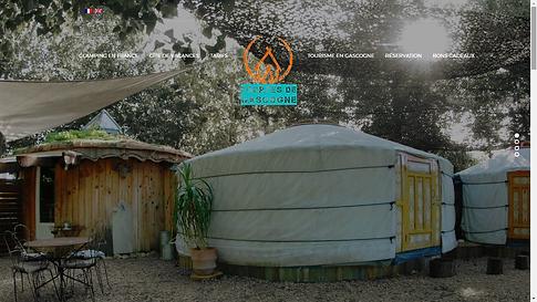 Yourtes de Gascogne - conseils tourisme -  création site web gite et maison d'hôtes - gers - lot et garonne