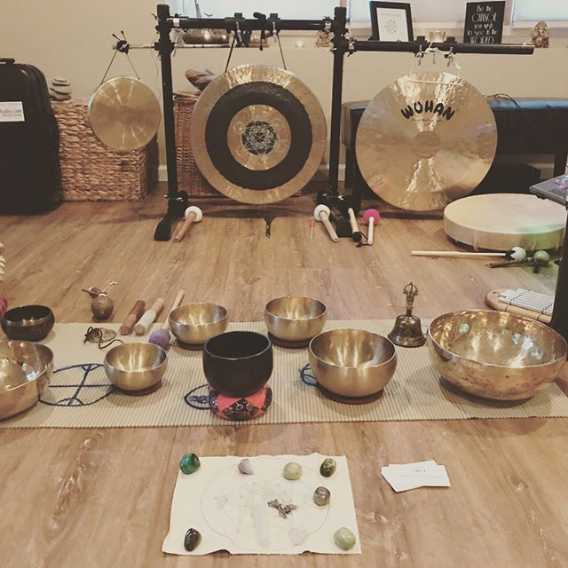 Really nice night of #soundmeditation with a great group of people _gentlestrengthyogastudio  thank