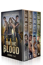 For the Blood (The Complete series books 1-4)