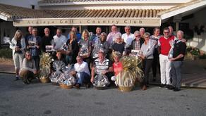 Club de Golf Dinamarca spillede månedsmatch den 17. januar 2020