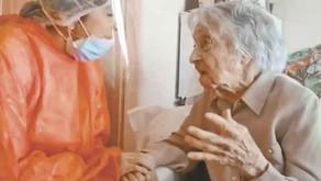 113-årig spansk kvinde overlever coronavirus på plejehjem