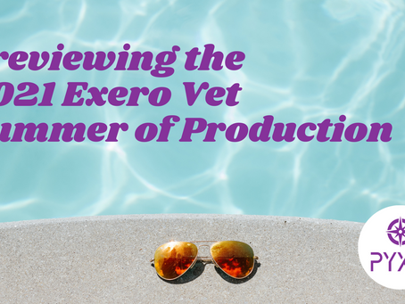 Previewing the 2021 Exero Vet Summer of Production