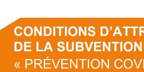"""Etes-vous éligible à la subvention """"prévention COVID-19""""?"""