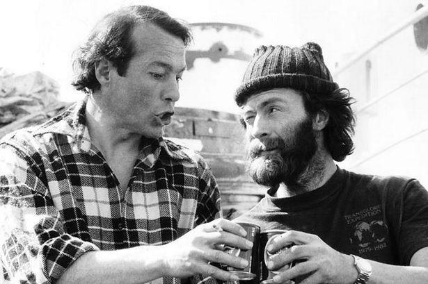 Sir Ranulph Fiennes and Charlie Burt