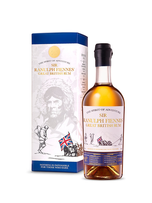 Sir Ranulph Fiennes' Great British Rum 70cl Limited 1st Edition