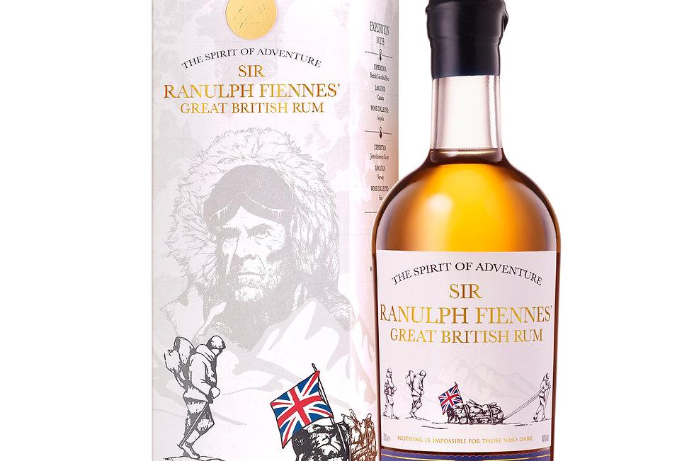 Sir Ranulph Fiennes' Great British Rum 70cl