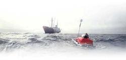 The Bowring at Sea