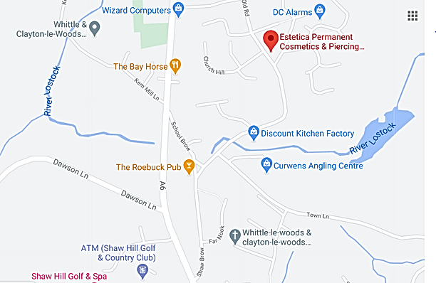 Chorley clinic map.PNG