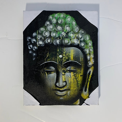 """Buddha Acrylic Canvas 23"""" by 31"""""""