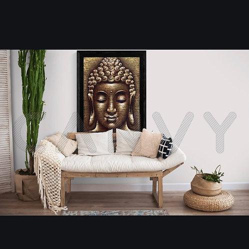 Buddha 9 with Yellow Lace