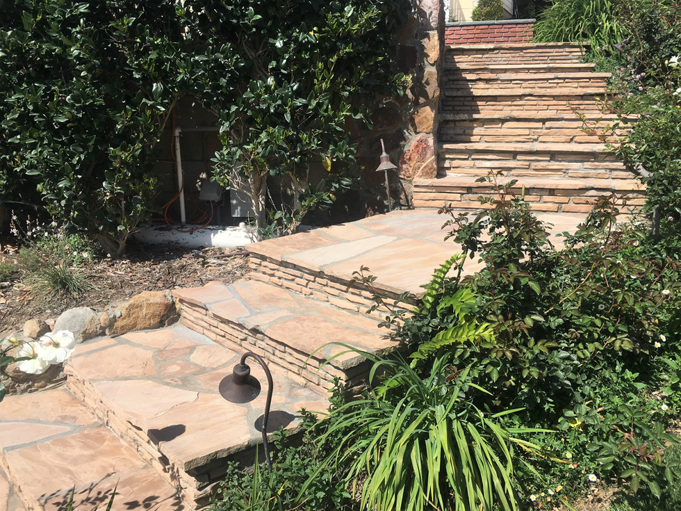 San-Diego-Masonry-Contractor-Beautiful-Flagstone-Steps