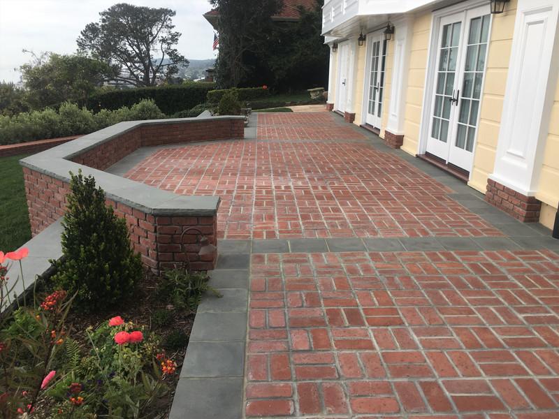 Point-Loma-Masonry-Contractor Brick-Patio