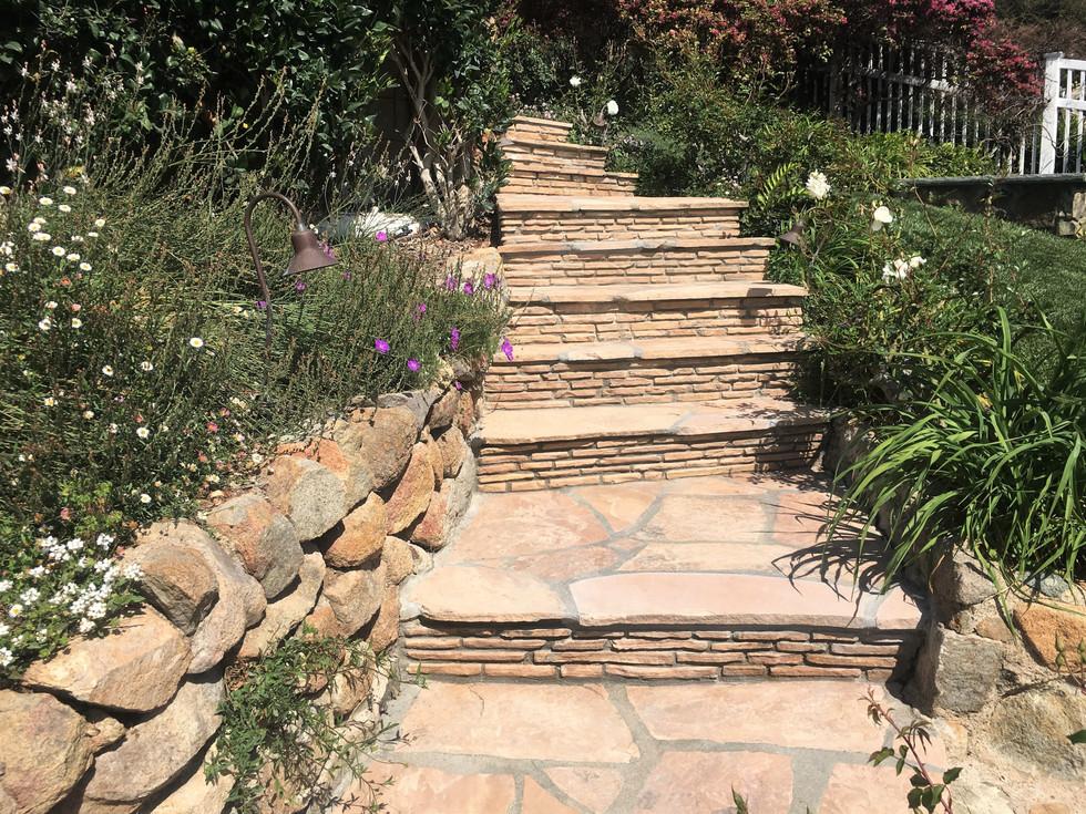 Best-San-Diego-Masonry-Contractor-Flagstone-Steps