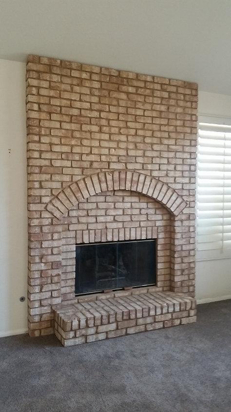 Brick-Fireplace-with-Arch-El-Cajon-Mason