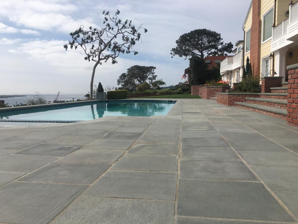 San-Diego-Masonry-Contractor-Bluestone-Pool-Deck-Install-Point-Loma