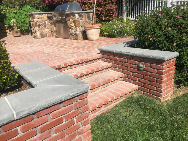 San-Diego-Masonry-Contractor-Brick-Steps-in-Point-Loma