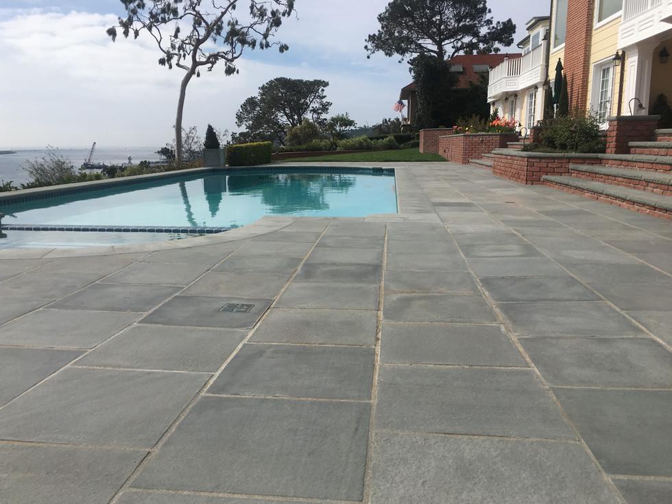 San-Diego-Masonry-Contractor-Installs-Bluestone-Patio-Point-Loma