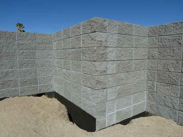Tidwell Masonry is a best rated block wall in Borrego Springs, San Diego County