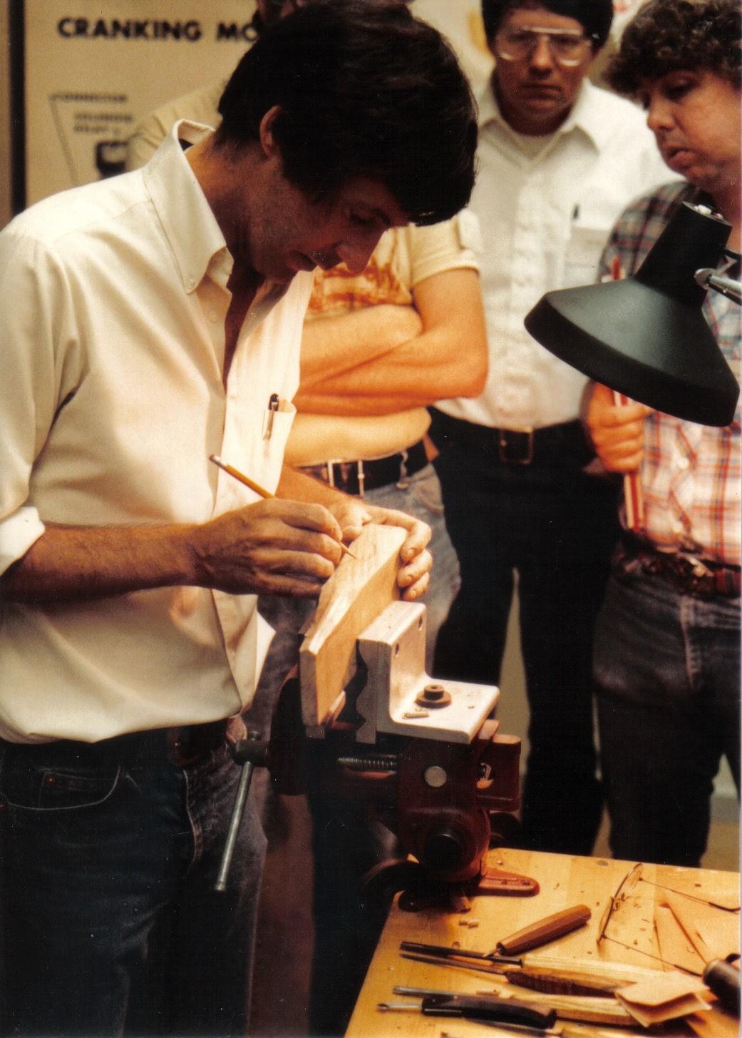 John Bivens Drawing on wood