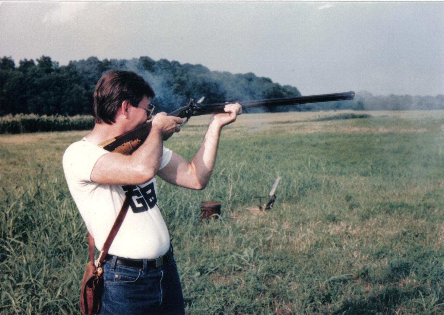 Wallace Gussler Shooting original Gunsmith of Williamsburg video Rifle