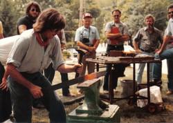 Hershel House forging bar of Iron 2
