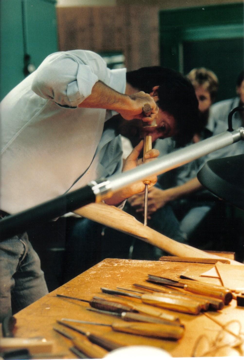 John Bivens Carving