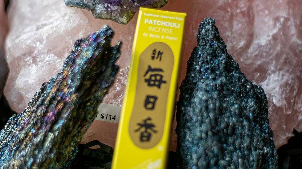 Patchouli Morning Star incense