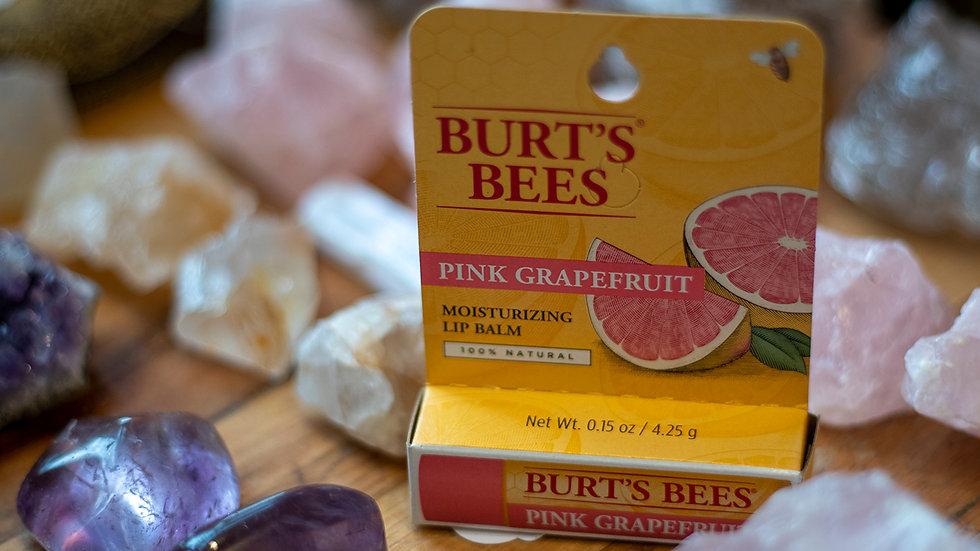 Burts Bees Pink Grapefruit Natural Lip Balm