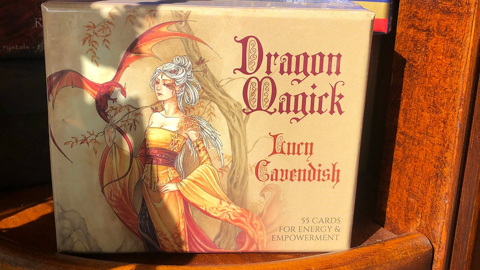 Dragon Magick - by Lucy Cavendish