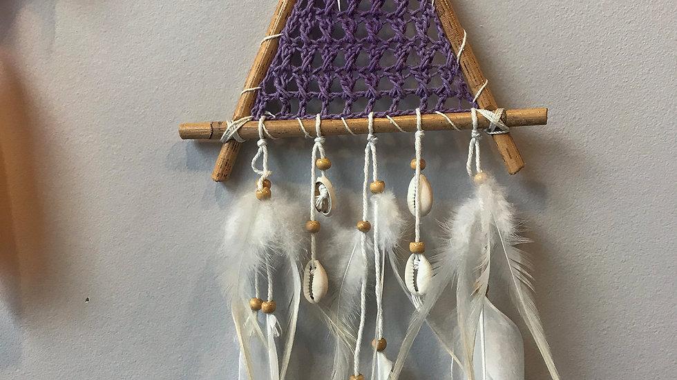 Crochet Bamboo Dream Catcher