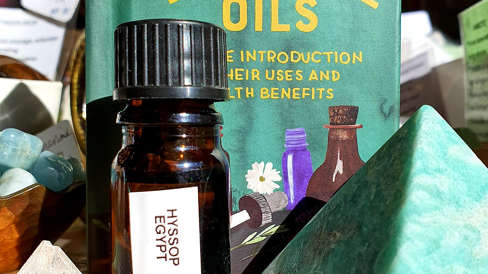Hyssop - Egypt - Pure Essential Oil