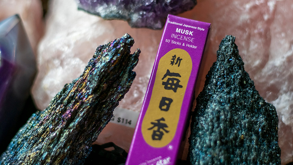 Musk Morning Star incense