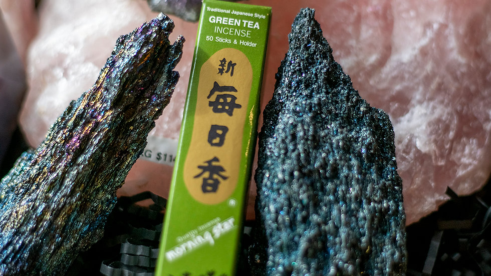 Green Tea Morning Star incense
