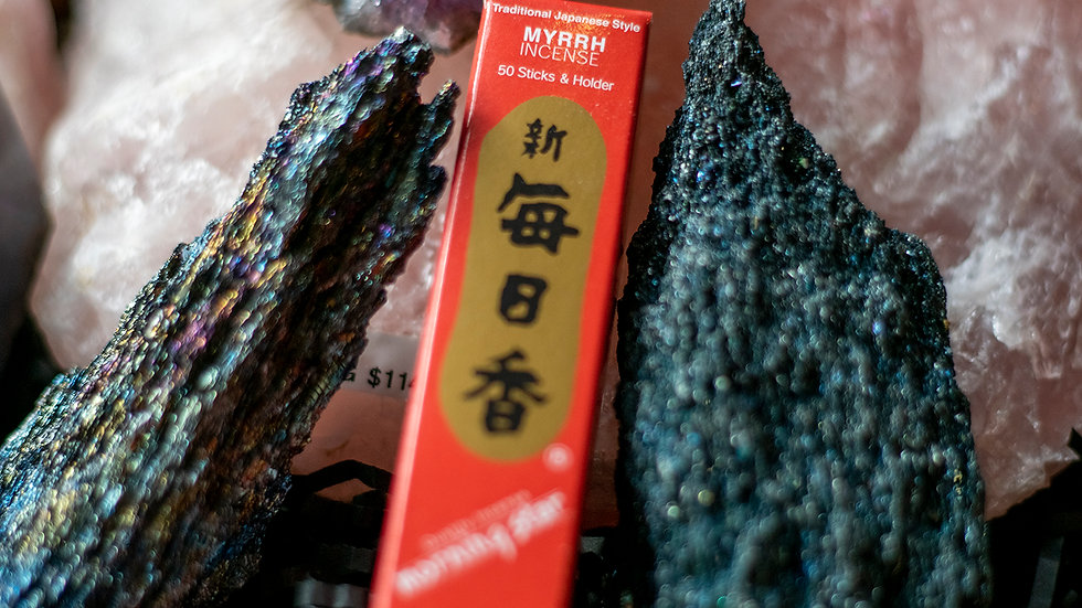 Myrrh Morning Star incense