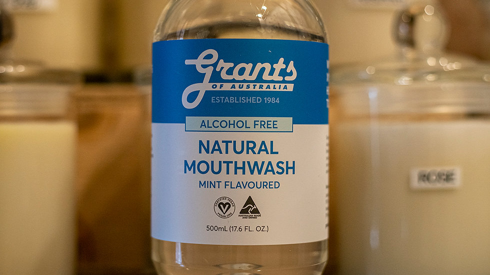 Grants of Australia Natural Mouthwash