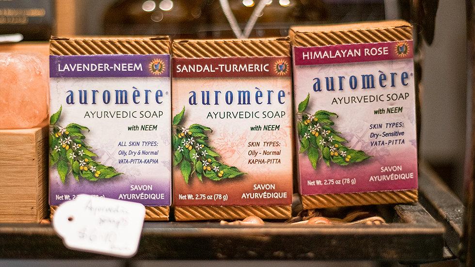 Himalayan Rose - Auromère Ayurvedic soap