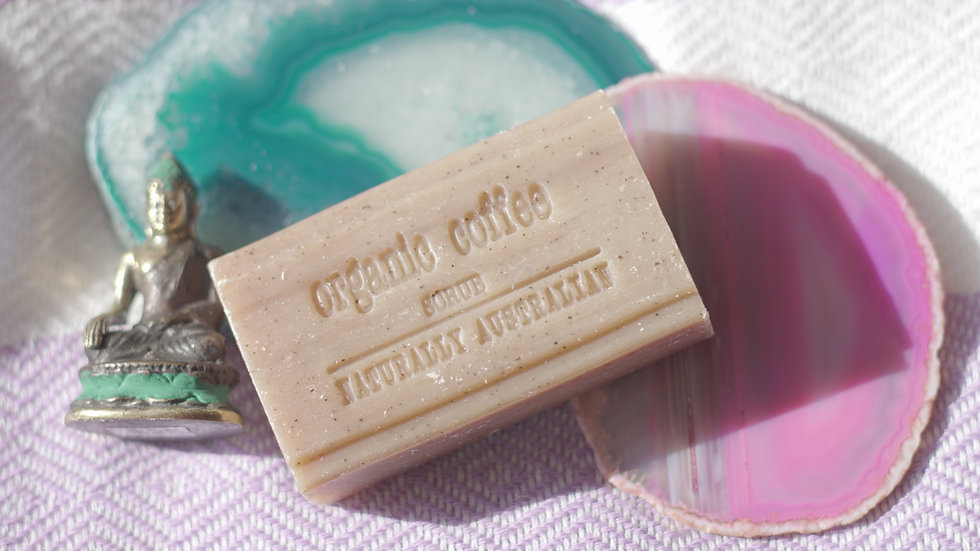 Naturally Australian Organic Coffee Scrub Soap