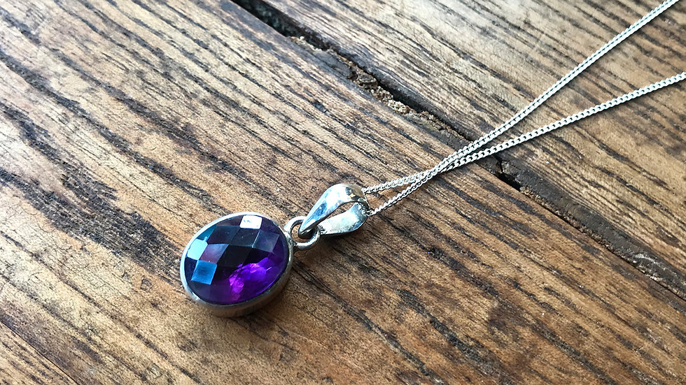 Facered Amethyst