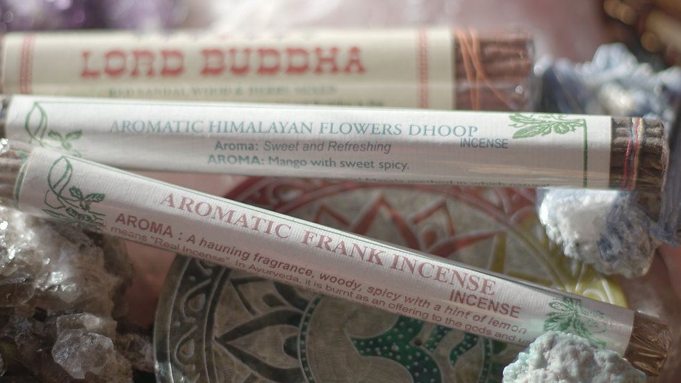 Aromatic Himalayan Flowers Dhoop hand rolled incense
