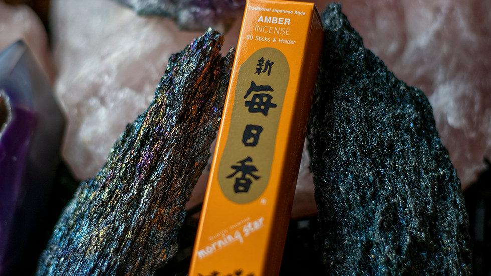 Amber Morning Star incense