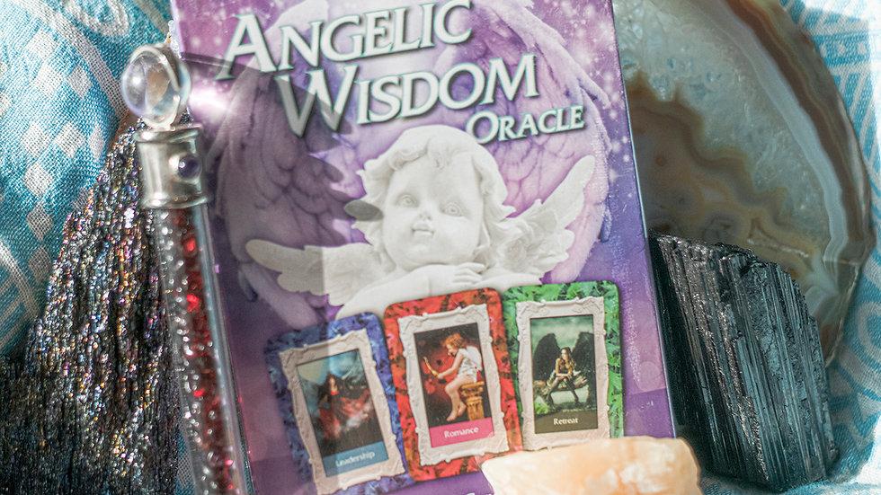 S'Roya Rose Angelic Wisdom Oracle cards