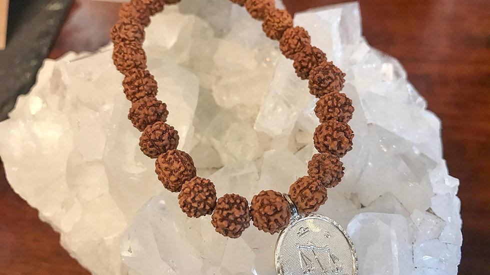 Libra Rudraksha bead bracelet