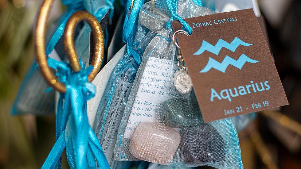 Aquarius Zodiac Crystals